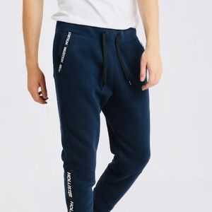 HOLLISTER TAPE JOGGER - Tracksuit bottoms✅